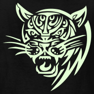 Design ~ COUGAR - GLOW IN THE DARK T-Shirt