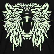 Design ~  TRIBAL LION - GLOW IN THE DARK Child Size T-Shirt