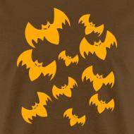 Design ~ Halloween Bats Adult T-Shirt