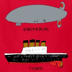 hindenburg & Titanic Kid's Drawing