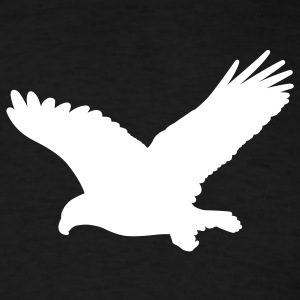 Black eagle wings T-Shirts (Short sleeve) - Men's T-Shirt