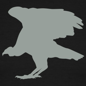 Black/white buzzard T-Shirts (Short sleeve) - Men's Ringer T-Shirt