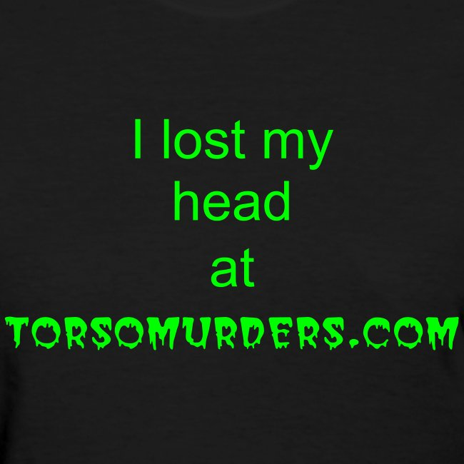 womens torso1 tshirt with skull on back