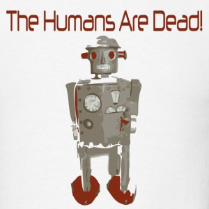 White humans_are_dead T-Shirts (Short sleeve) - Men's T-Shirt
