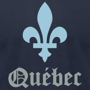 Québec - Men's T-Shirt by American Apparel