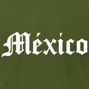 México - Men's T-Shirt by American Apparel