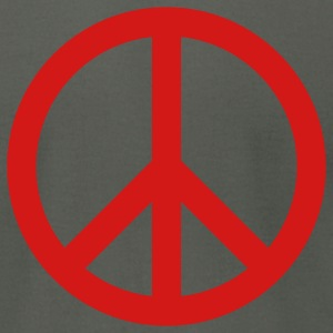 Peace Symbol - Men's T-Shirt by American Apparel