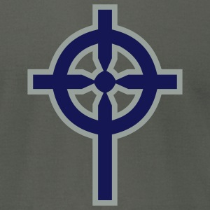 Celtic Cross - Men's T-Shirt by American Apparel