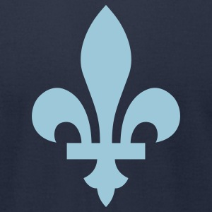 Fleur-de-lis - Men's T-Shirt by American Apparel
