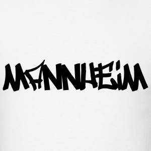 White Mannheim T-Shirts (Short sleeve) - Men's T-Shirt