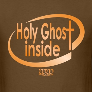 Brown ***12% Rebate - See details!*** Holy Ghost Inside (whol-e.com) T-Shirts (Short sleeve) - Men's T-Shirt