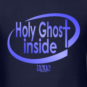 Navy ***12% Rebate - See details!*** Holy Ghost Inside (whol-e.com) T-Shirts (Short sleeve) - Men's T-Shirt