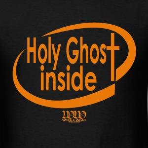 Black ***12% Rebate - See details!*** Holy Ghost Inside (whol-e.com) T-Shirts (Short sleeve) - Men's T-Shirt