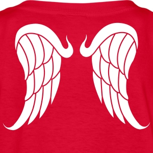 Red Angel wings Kids Shirts - Kids' T-Shirt