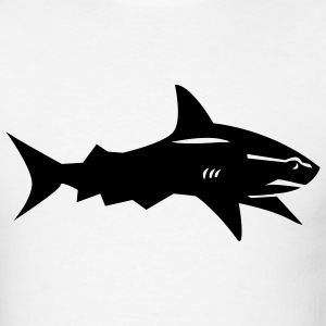 White Shark T-Shirts (Short sleeve) - Men's T-Shirt