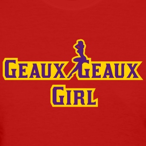 Red LSU Geaux Geaux Girl Women's T-shirts - Women's T-Shirt