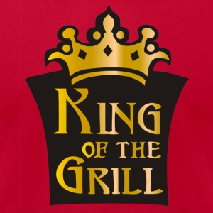 Aqua King of the grill (01) T-Shirts (Short sleeve) - Men's T-Shirt by American Apparel