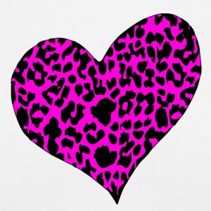 Cheetah Hearts - Women's V-Neck T-Shirt