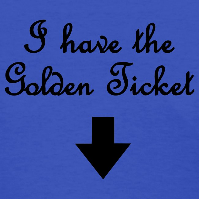 """BRITNEY SPEARS """"I HAVE THE GOLDEN TICKET"""" T-Shirt"""