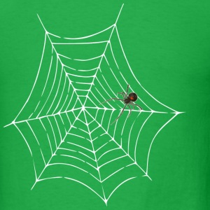 spider web men's lightwieght cotton t-shirt - Men's T-Shirt