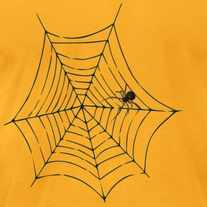Halloween Spider Web men's tee (aa brand) - Men's T-Shirt by American Apparel