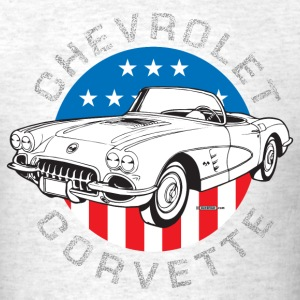 Ash  auto_corvette_59_01 T-Shirts (Short sleeve) - Men's T-Shirt