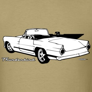 Khaki auto_thunderbird_01_bw T-Shirts (Short sleeve) - Men's T-Shirt