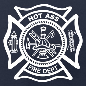Fire Dept. Costume Shirt - Men's T-Shirt by American Apparel