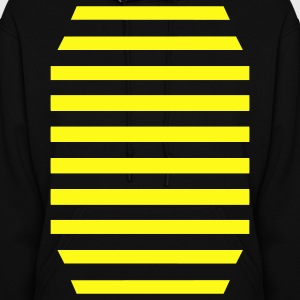 Black Bumble Bee Hooded Sweatshirts - Women's Hoodie