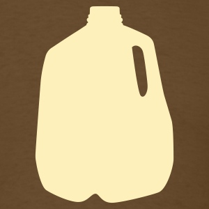 Brown milk jug T-Shirts (Short sleeve) - Men's T-Shirt