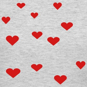 Gray 12 Assorted Hearts Long sleeve shirts - Women's Long Sleeve Jersey T-Shirt