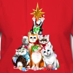 Christmas Tree Kittens