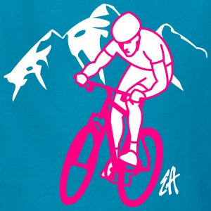 Mountainbike - Kids' T-Shirt