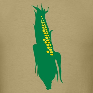 Khaki corn T-Shirts - Men's T-Shirt