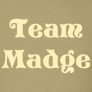 Khaki Team Madge T-Shirts - Men's T-Shirt