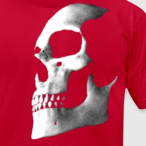 Brown skull fade 2 T-Shirts - Men's T-Shirt by American Apparel