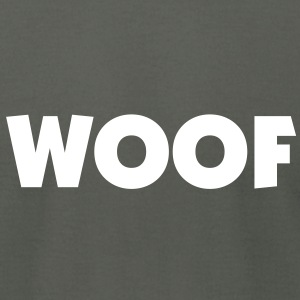 Woof. - Men's T-Shirt by American Apparel