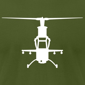 Olive chopper T-Shirts - Men's T-Shirt by American Apparel