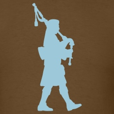 Brown bagpipes T-Shirts