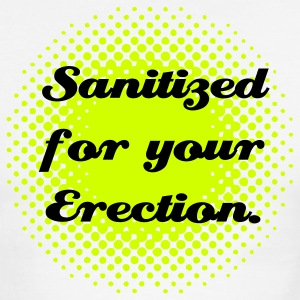 Sanitized for your Erection. - Men's Ringer T-Shirt