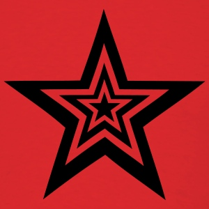 Red Star - Stars T-Shirts - Men's T-Shirt