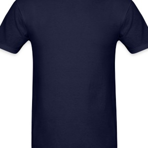 Navy Rockets (Scanlines) Poloshirts - Men's T-Shirt