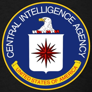 Black CIA - NAUTEE.com T-Shirts - Men's T-Shirt