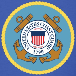 Royal blue US Coast Guard - MILITEE.us T-Shirts - Men's T-Shirt