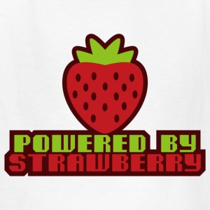 POWERED_BY_STRAWBERRY - Kids' T-Shirt