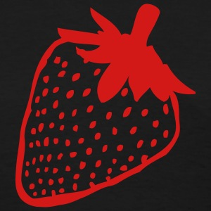 Black Strawberry Women's T-shirts - Women's T-Shirt