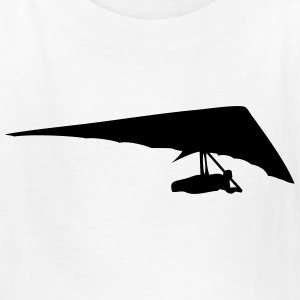 White Hang Glider Kids Shirts - Kids' T-Shirt
