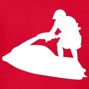 Red jet ski Kids Shirts - Kids' T-Shirt