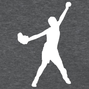 Deep heather softball player Women's T-shirts - Women's T-Shirt
