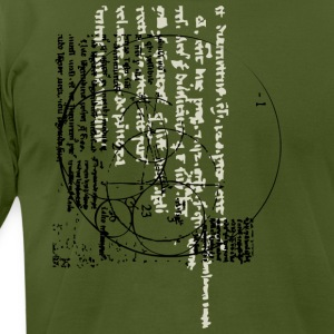 Olive new invention designs T-Shirts - Men's T-Shirt by American Apparel